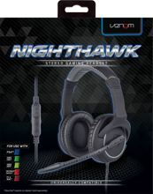 Venom Nighthawk Stereo Gaming Headset for PS4/Xbox One/Switch/PC & Mac